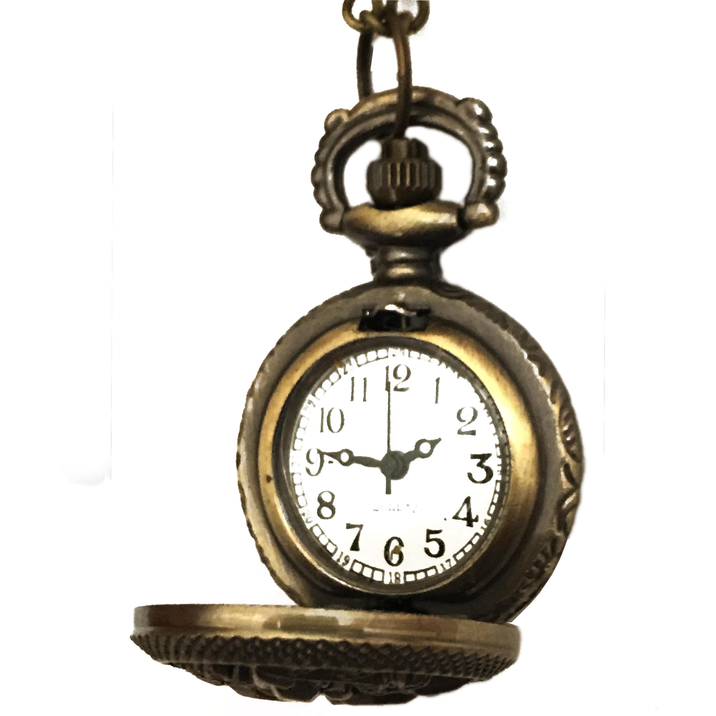 ساعت گردنبندی عقربه ای کد HF17