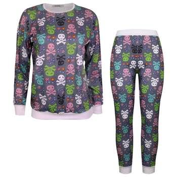 ست تی شرت و شلوار زنانه ماییلدا مدل 3587-8
