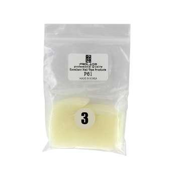 تیپ کاشت ناخن پرولایز شماره p61 - 3 بسته 50 عددی
