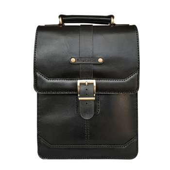 کیف دوشی مردانه چرم روژه مدل ES01B