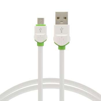 کابل تبدیل USB به microUSBالدینیو مدل LS-33 طول 2 متر