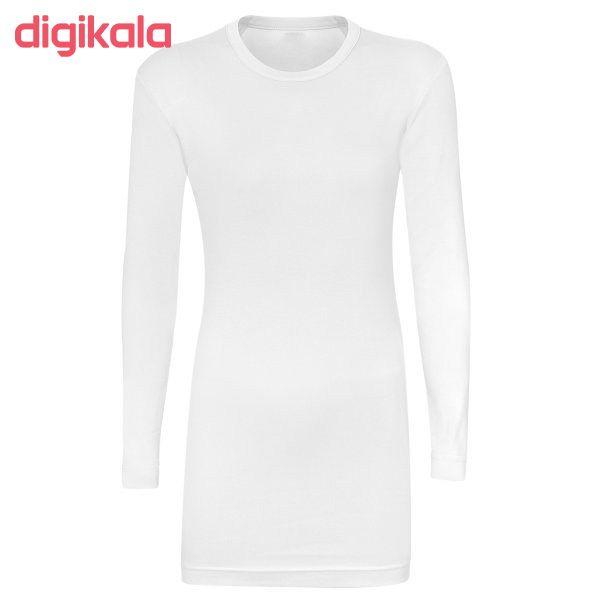 خرید اینترنتی با تخفیف ویژه زیر سارافونی زنانه کد hoom06 رنگ سفید