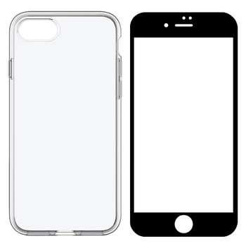 کاور مدل BLKN مناسب برای گوشی موبایل اپل iPhone 8 به همراه محافظ صفحه نمایش