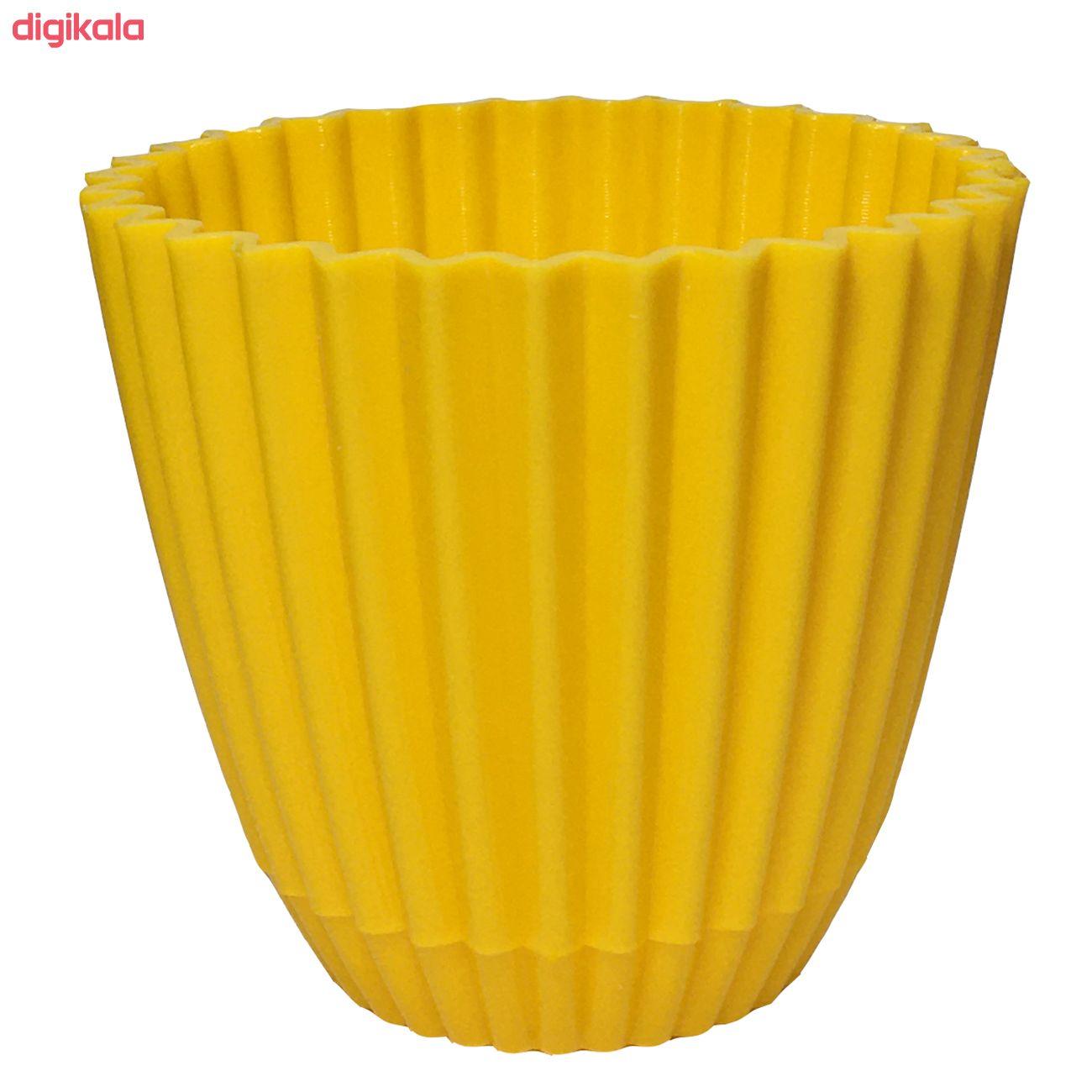 گلدان دانیال پلاستیک کد 1012 مجموعه 8 عددی main 1 7