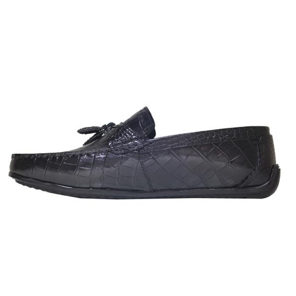کفش روزمره مردانه چرم آرا مدل sh051 کد mk