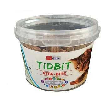 غذای تشویقی گربه تیدبیت مدل S_1 وزن ۱۸۰ گرم