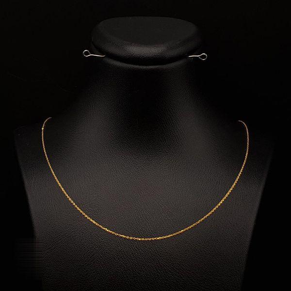 زنجیر طلا 18 عیار زنانه مدل 1EZ632