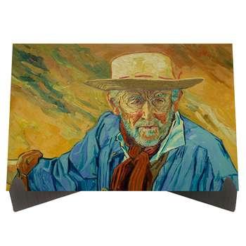 تابلو شاسی رومیزی طرح پیرمرد اثر ونگوگ کد LS2300
