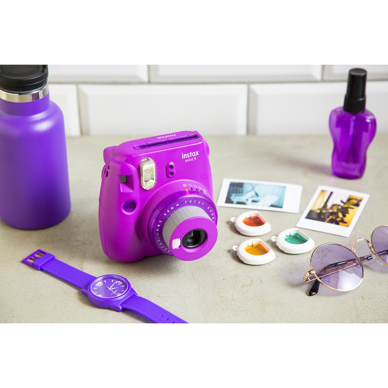 دوربین عکاسی چاپ سریع فوجی فیلم مدل Instax Mini 9 Clear main 1 40