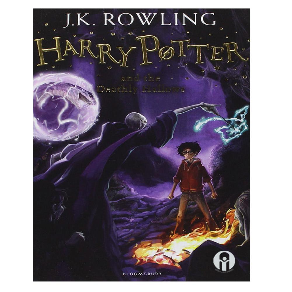 کتاب Harry Potter and the Deathly Hallows اثر J.K. Rowling انتشارات الوندپویان