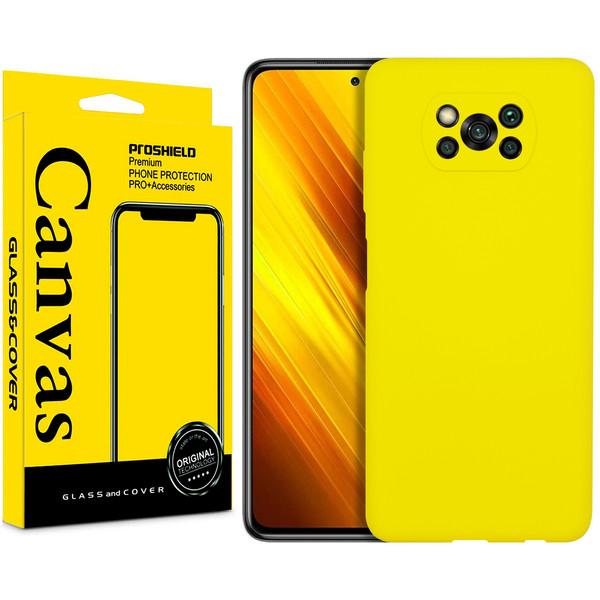 کاور کانواس مدل 3 SILICO مناسب برای گوشی موبایل شیائومی Mi POCO X3 NFC