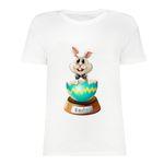 تی شرت آستین کوتاه زنانه مدل SK991105-001 thumb