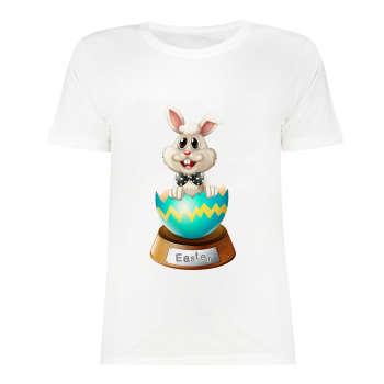 تی شرت آستین کوتاه زنانه مدل SK991105-001