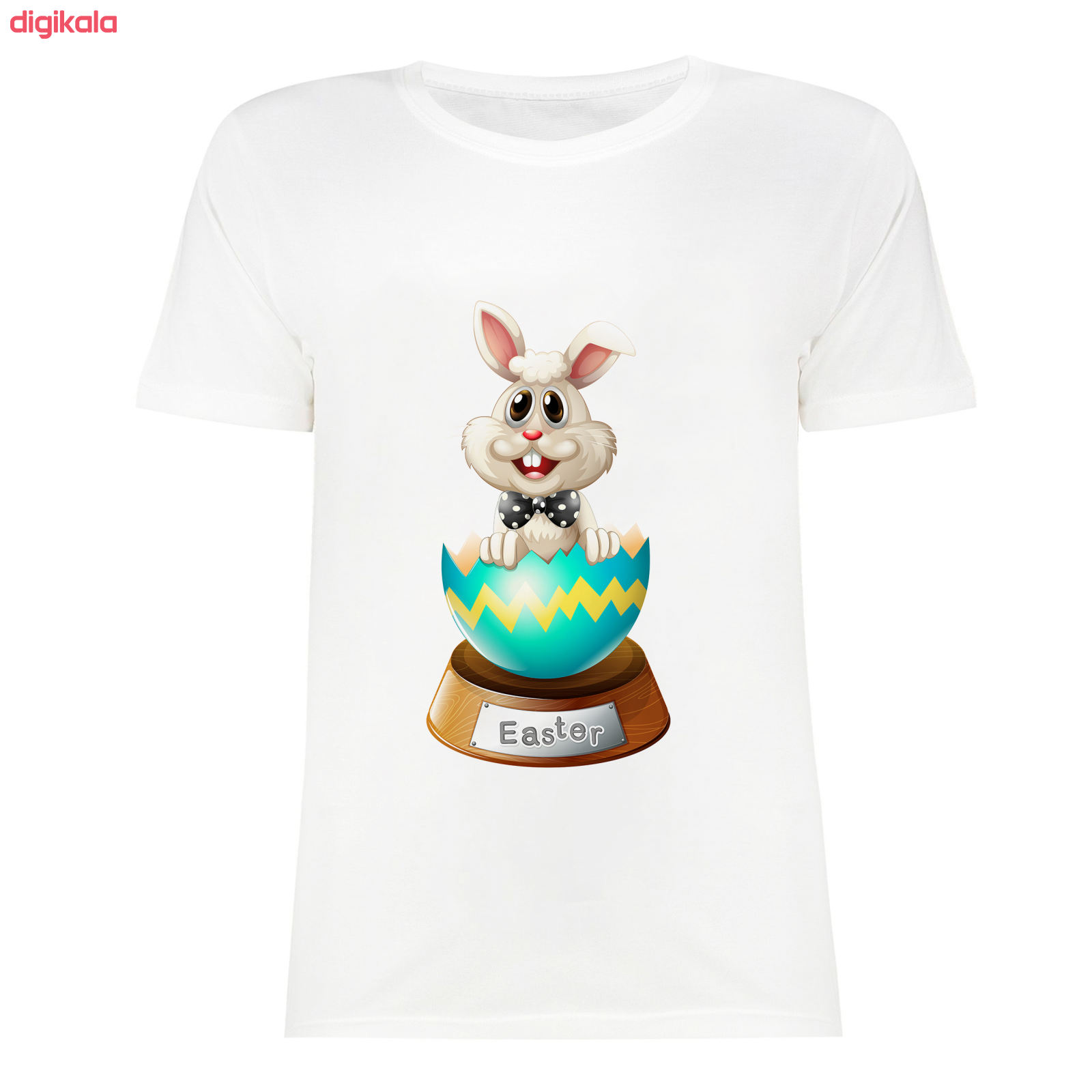 تی شرت آستین کوتاه زنانه مدل SK991105-001 main 1 1
