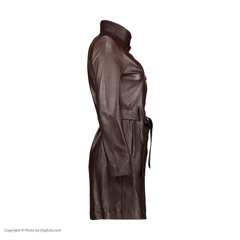 کت چرم زنانه شیفر مدل 2702-2