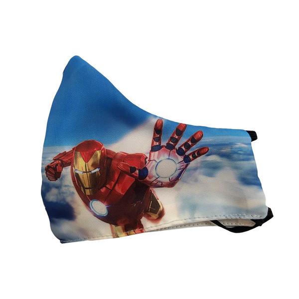 ماسک تزئینی کالای ورزشی پروین طرح مرد آهنی