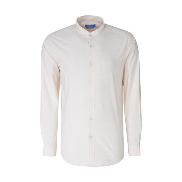 پیراهن مردانه سولا  مدل SM420640026-CREAMY