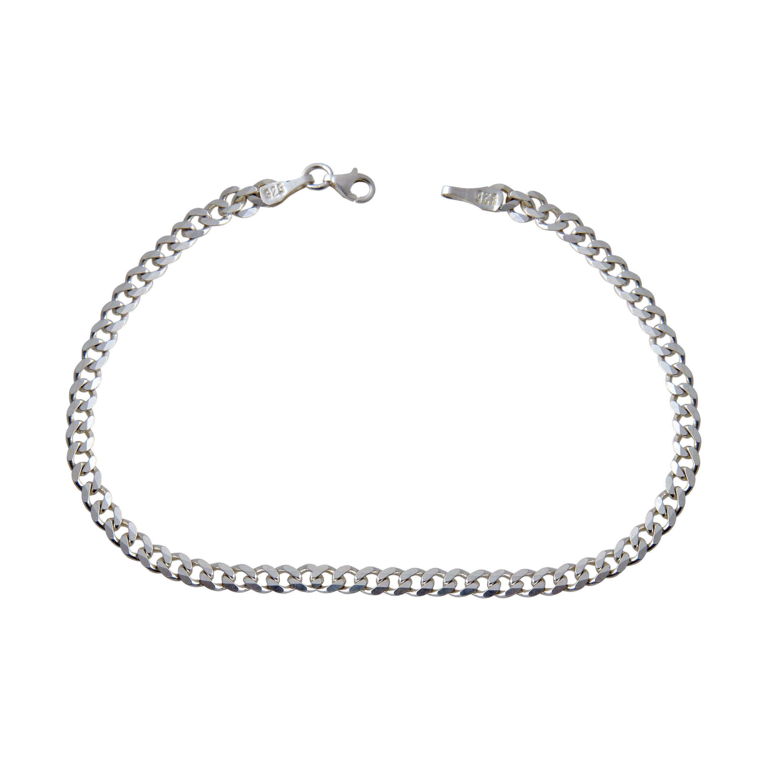 دستبند نقره مردانه بازرگانی میلادی کد DP_116