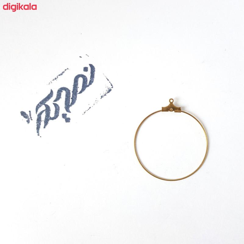 حلقه گوشواره نمدیکا کد ml020 بسته 20 عددی