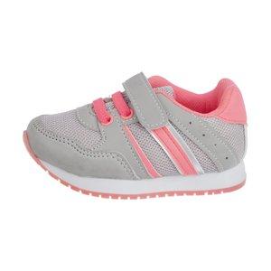 کفش پیاده روی نوزادی دخترانه ال سی وایکیکی مدل 8S2527Z1-GREY
