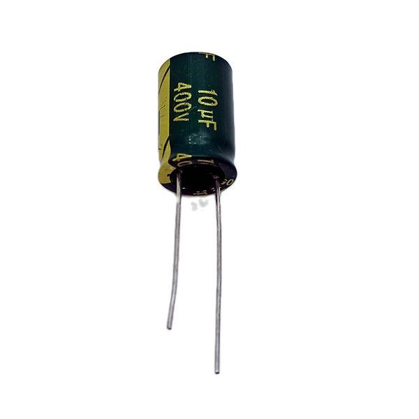 خازن 10 میکروفاراد 400 ولت هینکدز مدل RP1 بسته 5 عددی