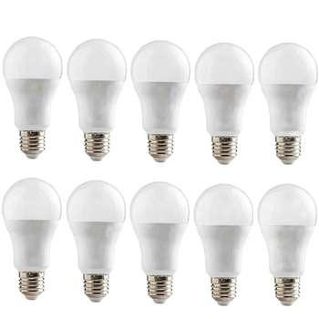 لامپ ال ای دی 12 وات افراتاب مدل AF-BULB-12W پایه E27 بسته 10 عددی