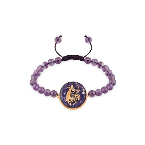 دستبند زنانه زرسام مدل ماه آذر کد 10006969