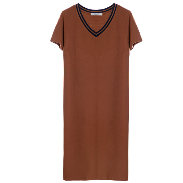 پیراهن زنانه کلوتو مدل MANGU drs.brn
