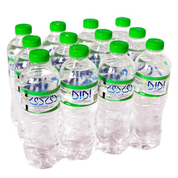 آب معدنی دی دی واتر - 0.5 لیتر بسته 12 عددی