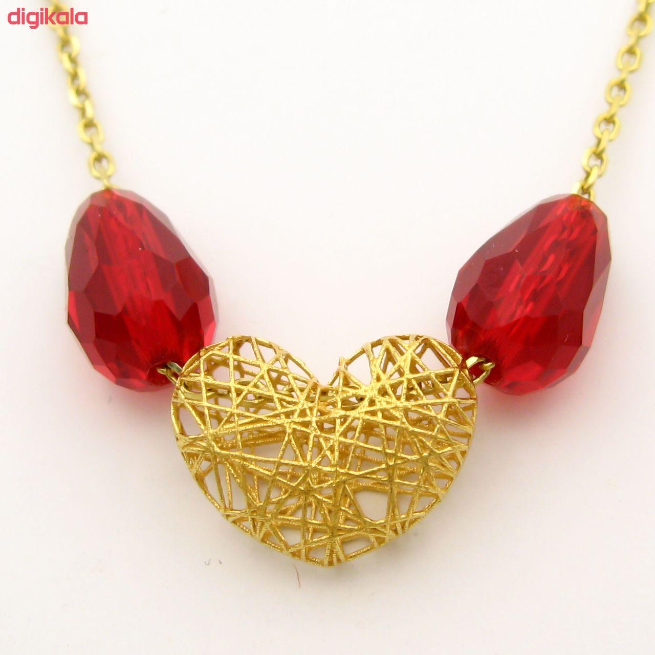 گردنبند طلا 18 عیار زنانه مانچو کد sfgs008 main 1 1