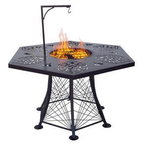 آتشدان مدل شش ضلعی