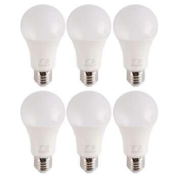 لامپ ال ای دی 12 وات تی .بی مدل AJ-3 پایه E27 بسته 6 عددی