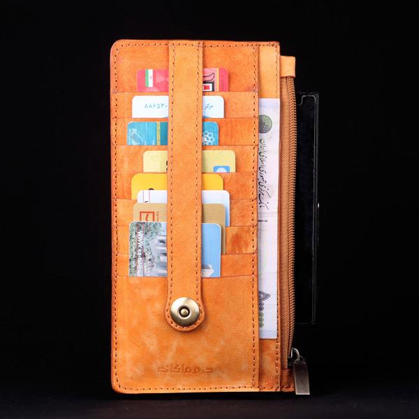 کیف دستی چرم ماکان مدل بوژان کد KDB-SHOT1
