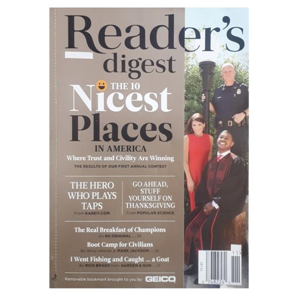 مجله ريدرز دايجست نوامبر 2017