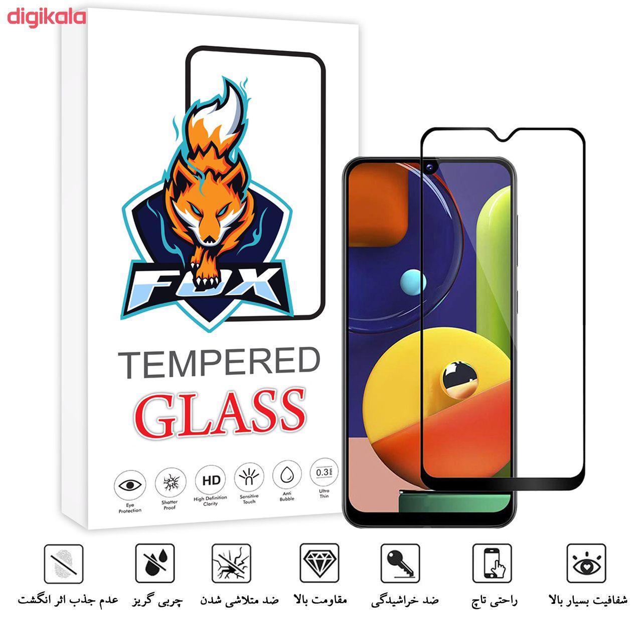 محافظ صفحه نمایش فوکس مدل PT001 مناسب برای گوشی موبایل سامسونگ Galaxy A50s main 1 2