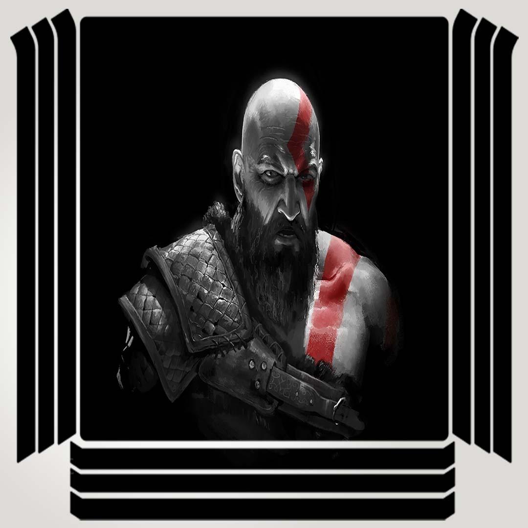 خرید اینترنتی [با تخفیف] برچسب پلی استیشن ۴ مدل kratos in god of war کد PSP-323 اورجینال