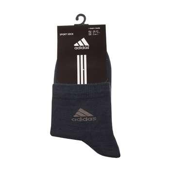 جوراب مردانه مدل A-2020 رنگ طوسی تیره