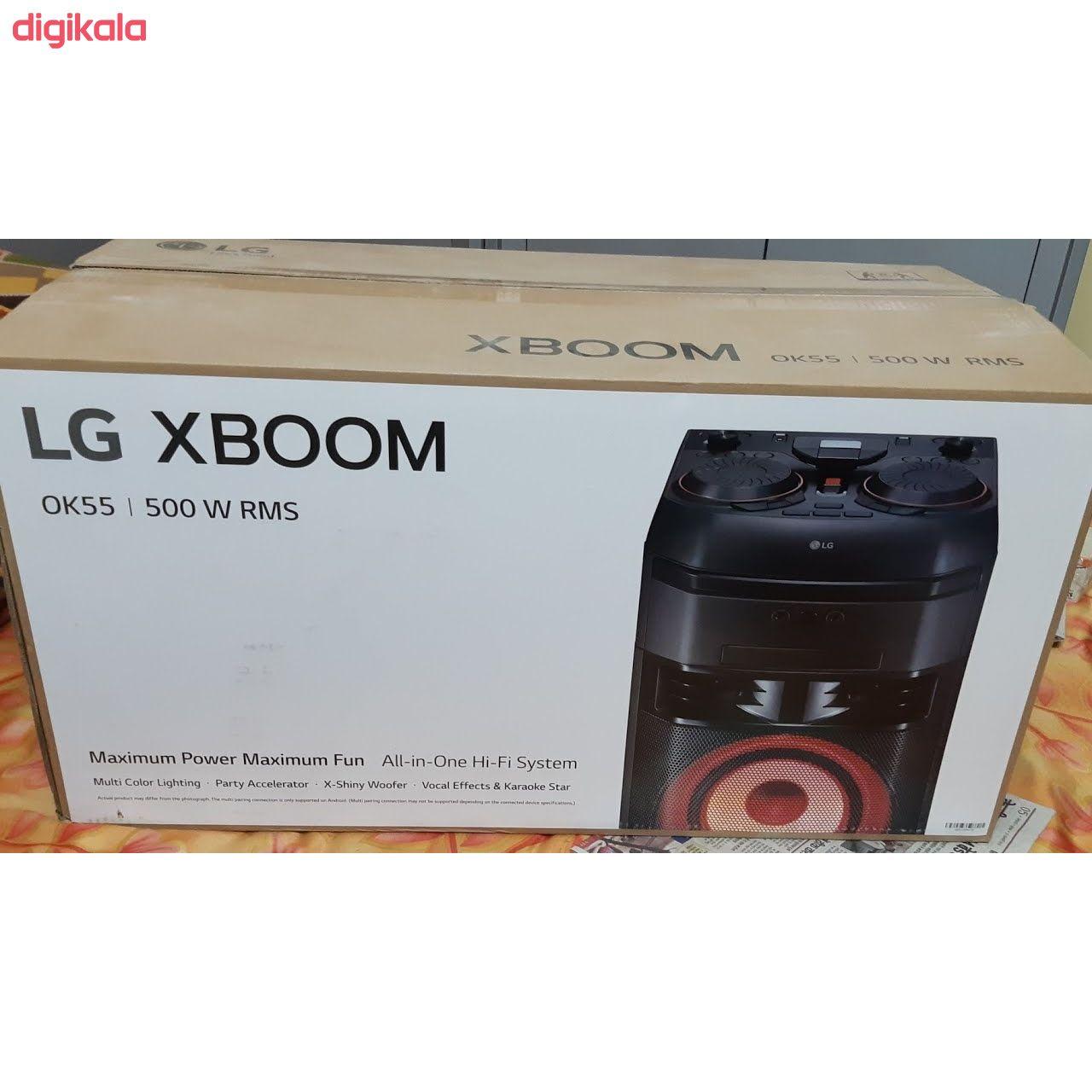 سیستم صوتی خانگی ال جی مدل OK55 main 1 5