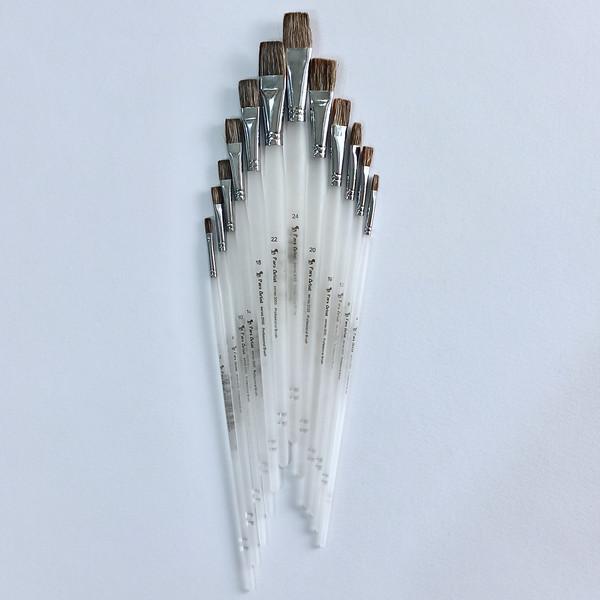 قلم مو تخت پارس آرتیست کد 3050 مجموعه 12 عددي