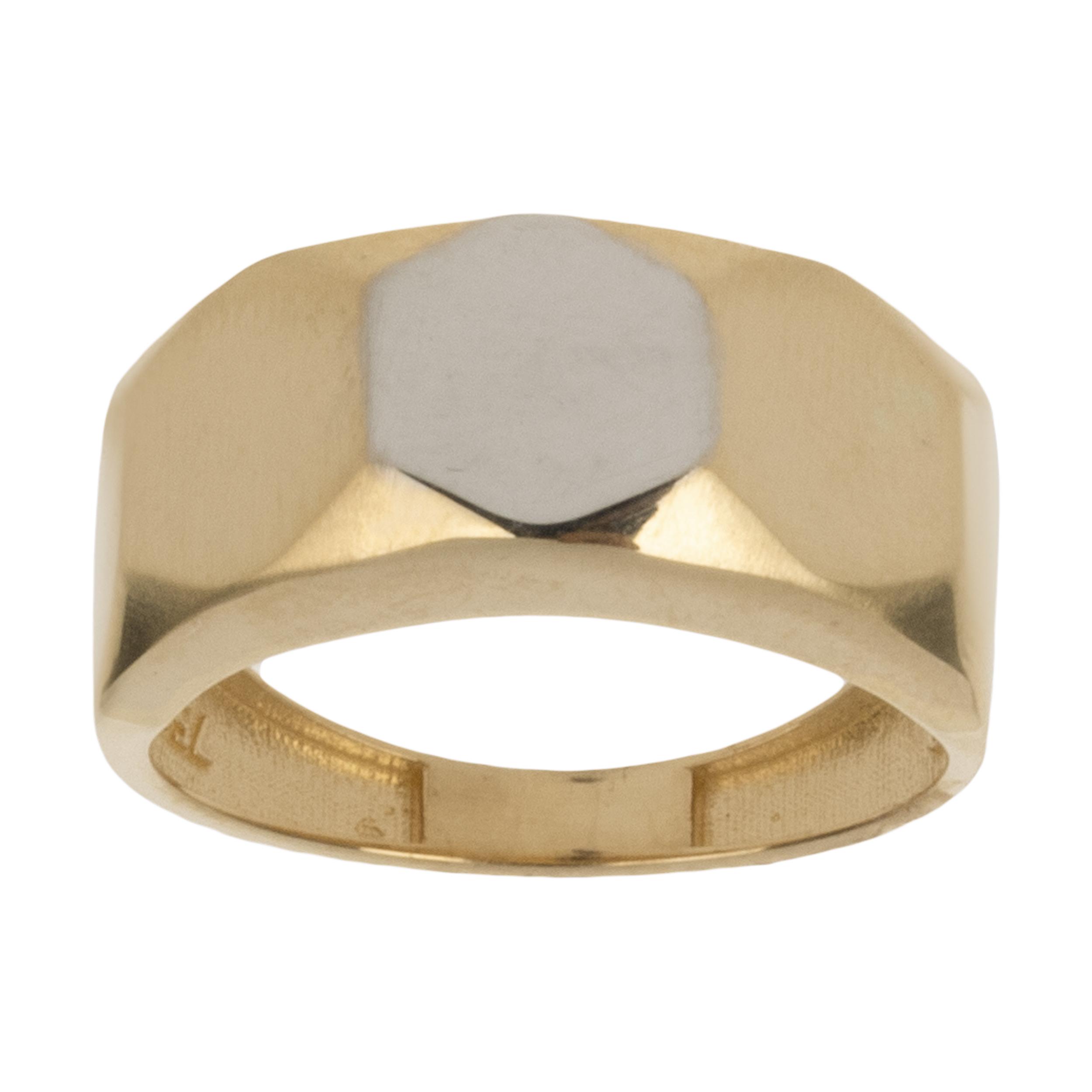 انگشتر طلا 18 عیار زنانه آلند کد BR24