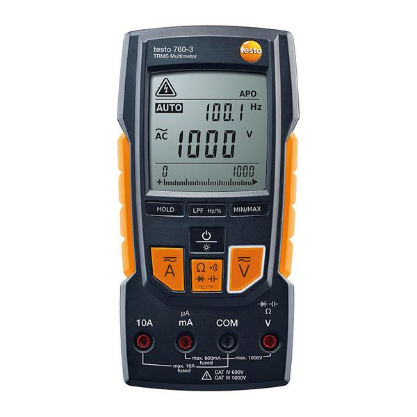 مولتی متر دیجیتال تستو مدل 3-760