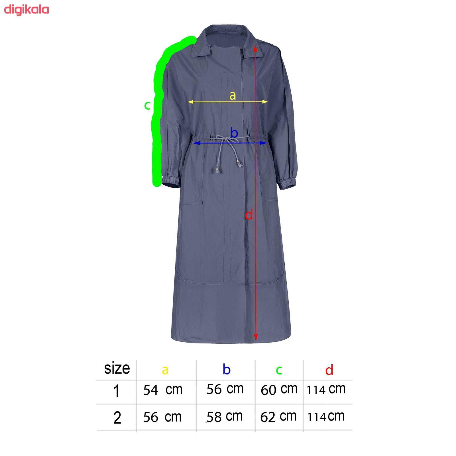 خرید اینترنتی با تخفیف ویژه بارانی زنانه مدل Taak-105