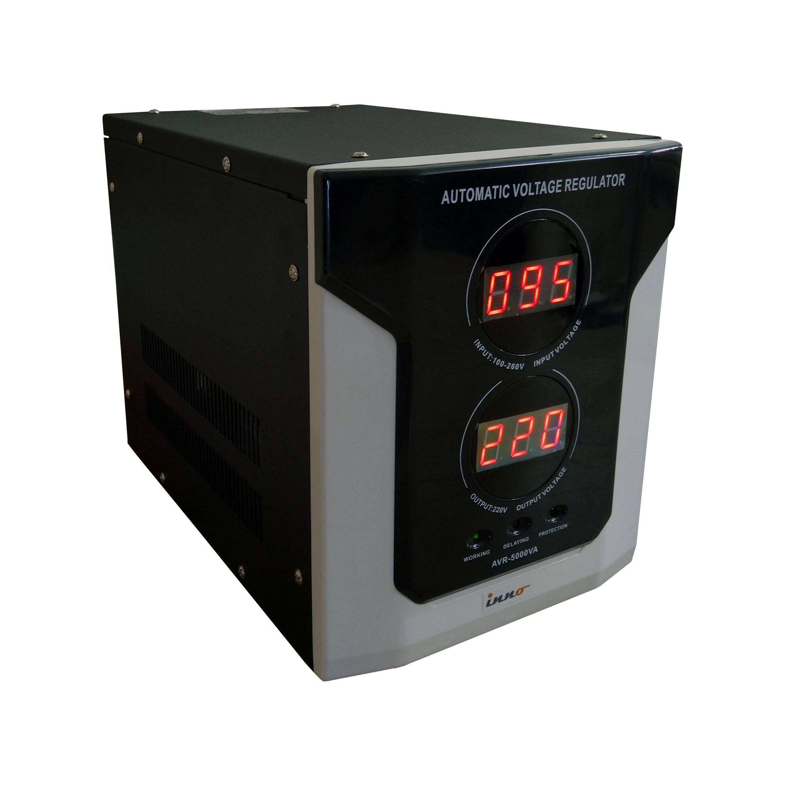 استابلایزر اینو سری AVR با ظرفیت ۵۰۰۰ ولت آمپر
