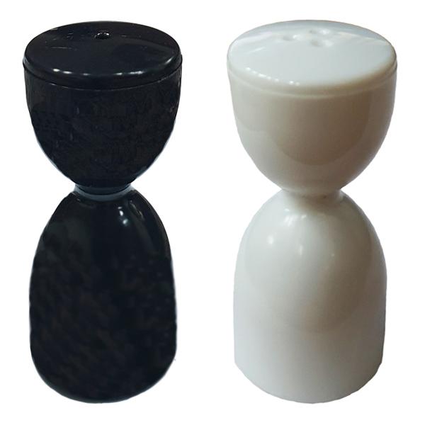 نمکدان و فلفل پاش طرح ساعت شنی کد 123