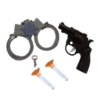 ست تفنگ بازی مدل پلیس شجاع