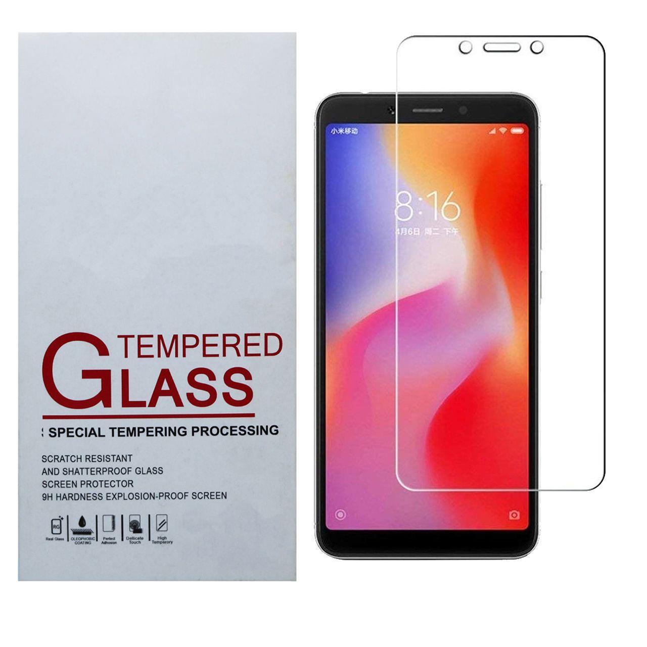 محافظ صفحه نمایش مدل jim-01 مناسب برای گوشی موبایل شیائومی  Redmi 6A