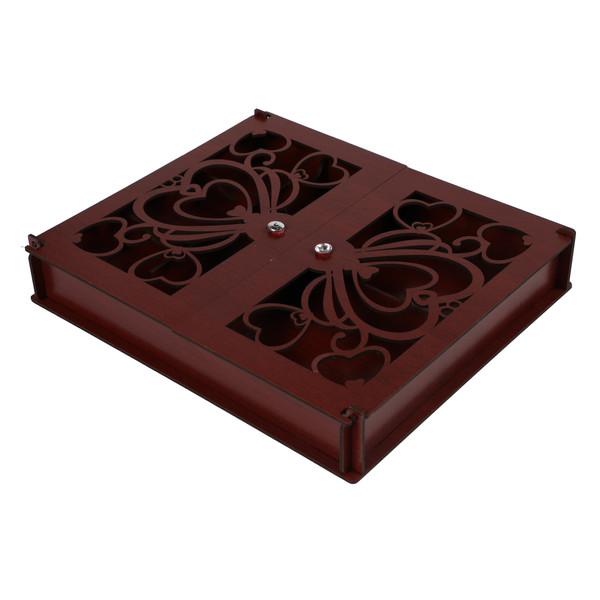 جعبه چای کیسه ای طرح قلب کد B3