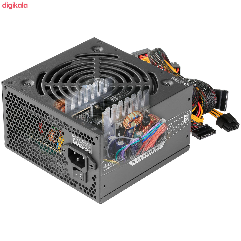 منبع تغذیه کامپیوتر گرین مدل GP300A-ECO Rev3.1 main 1 4