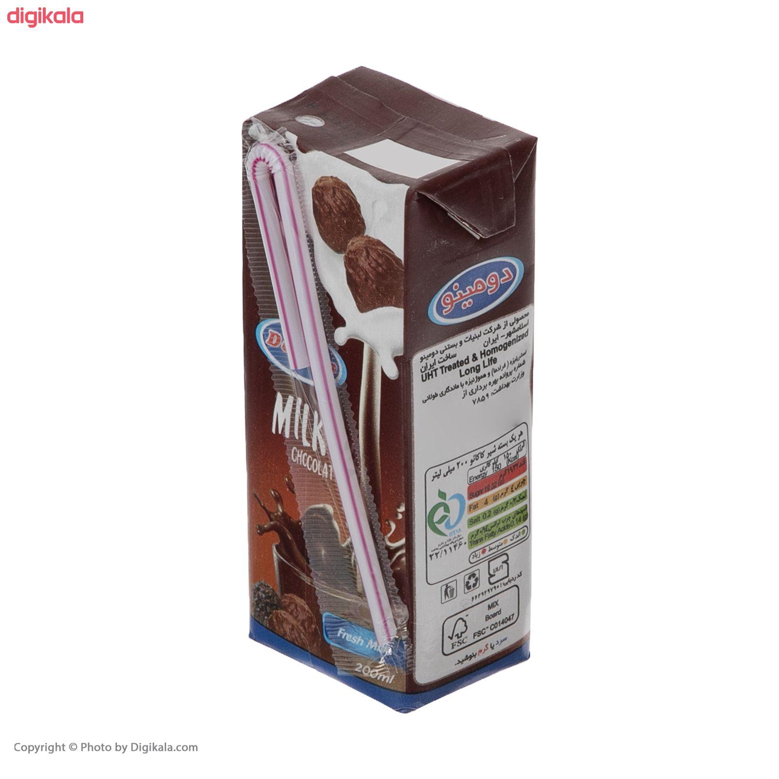 شیر کاکائو دومینو - 0.2 لیتر بسته 6 عددی main 1 6