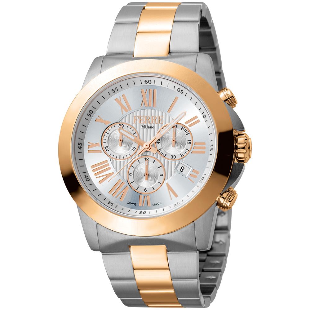کد تخفیف                                      ساعت مچی عقربه ای مردانه فره میلانو مدل FM1G079M0091